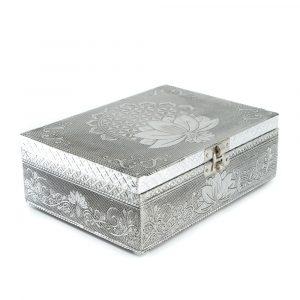 Tarot or Jewelry Box Lotus (17.5 cm)