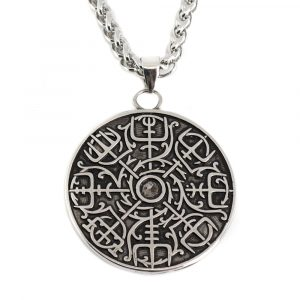 Viking Amulet Rune Compass