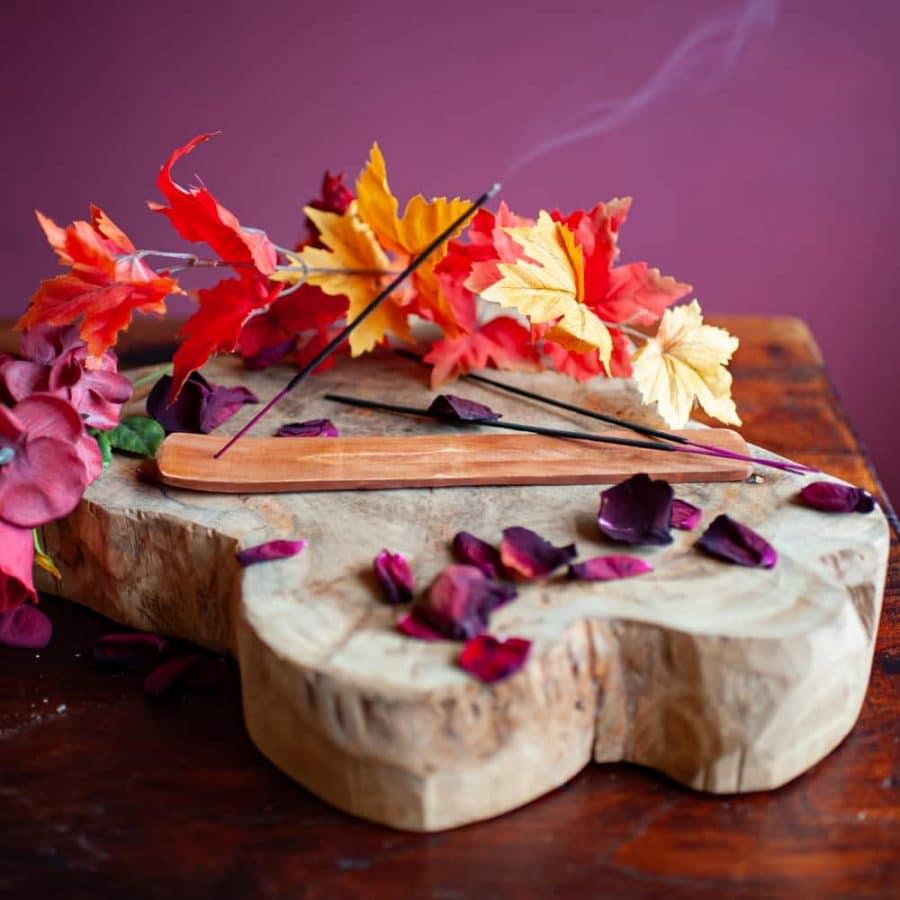 plank incense stick holder