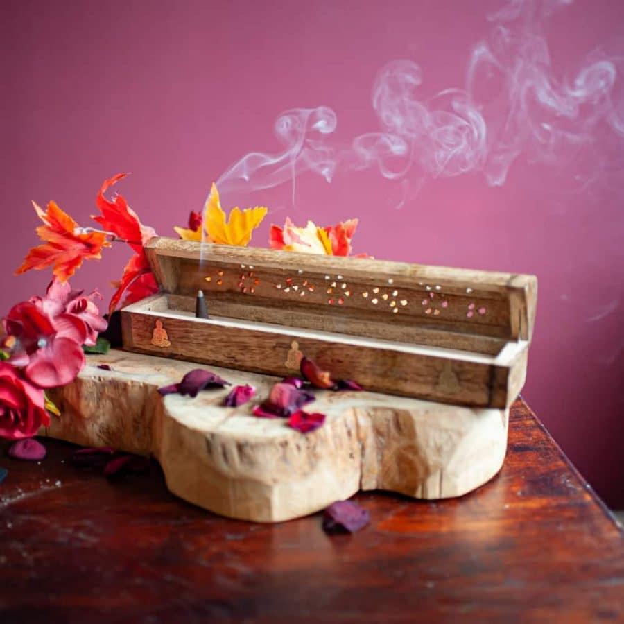 incense box holder cone
