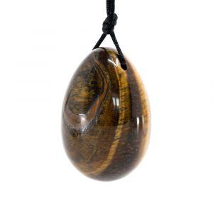 Yoni Egg Tiger Eye (45 x 30 mm)