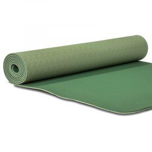 Yogi and Yogini Premium TPE Yoga Mat Green - 950 g