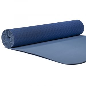 Yogi and Yogini Premium TPE Yoga Mat Blue - 950 g