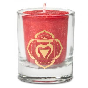 Votive Scented Candle 1st Chakra in Gift Box