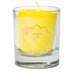 Votive Scented Candle 3rd Chakra in Gift Box