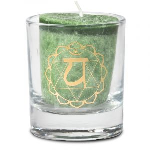 Votive Scented Candle 4th Chakra in Gift Box