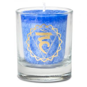 Votive Scented Candle 5th Chakra in Gift Box