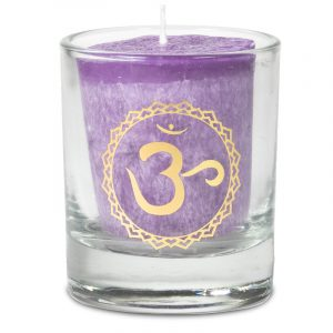 Votive Scented Candle 7th Chakra in Gift Box