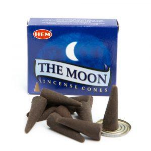 HEM Incense Cones The Moon (1 Box)