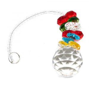 Feng Shui Rainbow Pendant Sphere Multi Color (20 cm)
