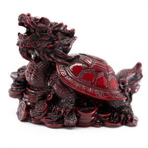 Feng Shui Statue - Dragon Turtle for Wealth (100 mm)