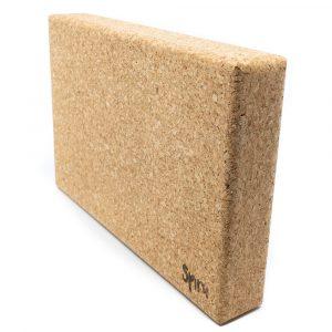 Spiru Yoga Block Eco Cork Rectangle Large - 30 x 5 x 20 cm
