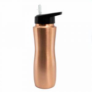 Spiru Copper Water Bottle with Spout - 900 ml