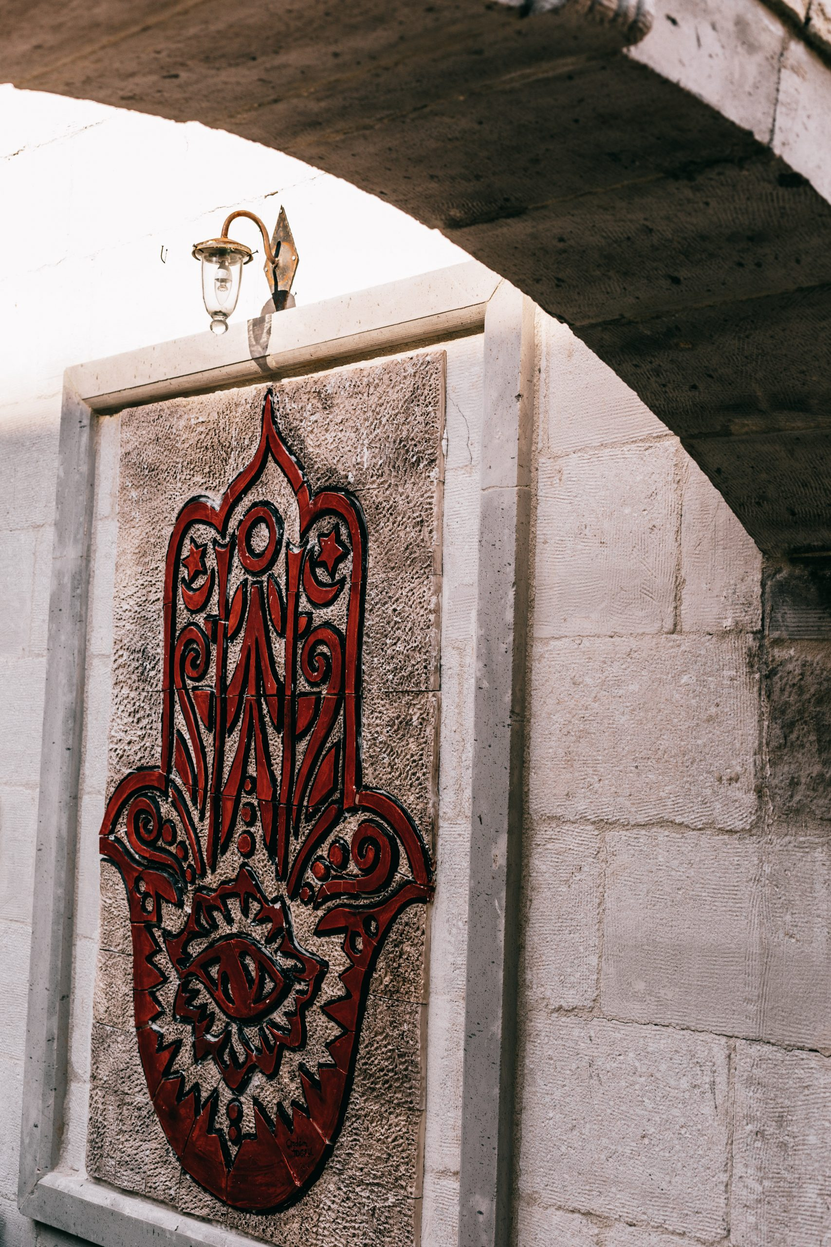hamsa large wall decoration